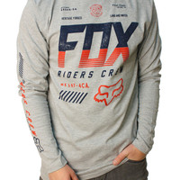Fox Racing Men's Escaped LS Graphic T-Shirt