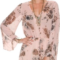 SWELL BUMBLE FLORAL SHORT ROMPER