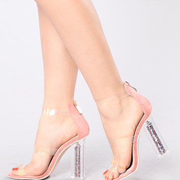 Misty Baby Heel - Dusty Rose