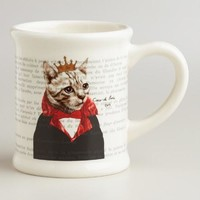 Cat Bonjour Paris Mug - World Market
