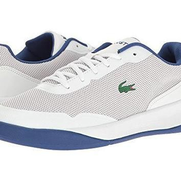 Lacoste Men's Light Spirit 117 3 Casual Shoe Fashion Sneaker, White, 7.5 M US