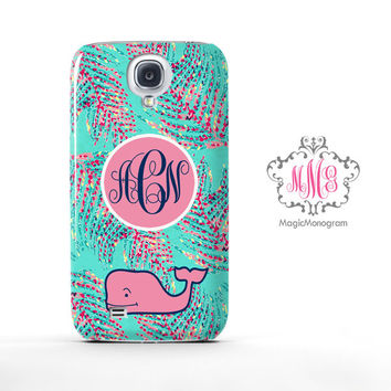 Strafruit Lush Lilly Pulitzer and Vineyard Vines Monogram Samsung Galaxy S6 Case, Galaxy Note 4 Case