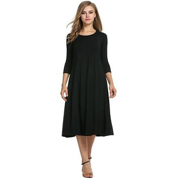 Patchwork Women Casual Loose Boho Long Maxi Dresses Linen Vintage Dress Plus Size 2xl 3xl Large Sizes Dresses designer clothes