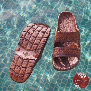 Brown Jon Jandals® - Pali Hawaii