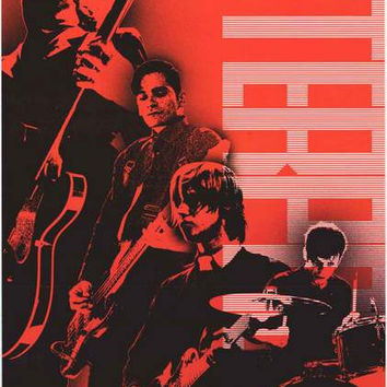 Interpol Band Pop Art Poster 22x34