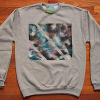 Galaxy Crew Neck Sweatshirt