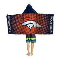 Denver Broncos NFL Youth Hooded Beach Towel