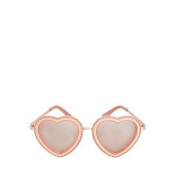 SWEETHEART SUNGLASSES: Betsey Johnson