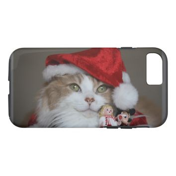 Christmas Cat iPhone 8/7 Case