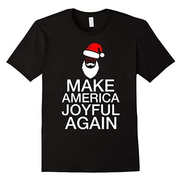 Make America Joyful Again Santa Shirt