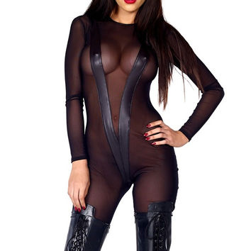 Safeword Catsuit in M/L