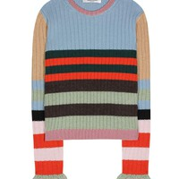 Striped wool sweater