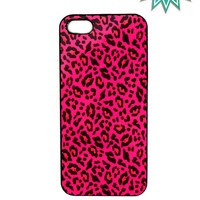 iPhone 5 Case Pink Leopard Ships from USA