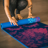 PLEASANT POSE REVERSIBLE YOGA MAT (5MM)