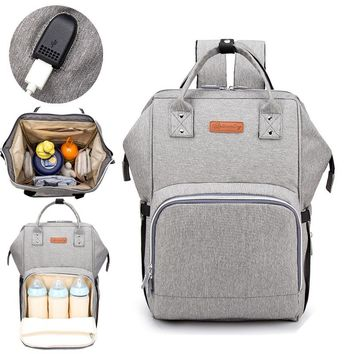 Stroller Enlarge Waterproof  Maternity Backpack