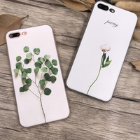 Apple Relief Sculpture Iphone Phone Case Matte Soft Floral Phone [11193077972]