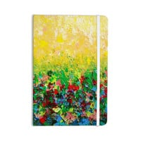 "Ebi Emporium ""My Paintings"" Yellow Multicolor Everything Notebook"