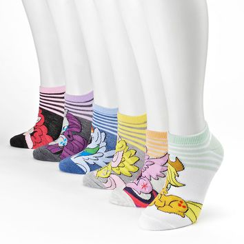 My Little Pony 6-pk. No-Show Socks - Women, Size: One Size (Grey)