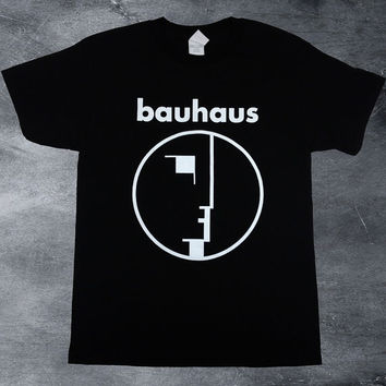 Bauhaus t shirt playera rock sister of mercy goth joy division punk 80's the cure new wave Siouxsie and the Banshees unisex bauhaus shirt