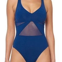 BLEU by Rod Beattie Strappy Back One-Piece Swimsuit | Nordstrom