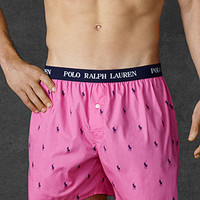 Polo Ralph Lauren Men's Polo Player Woven Boxers