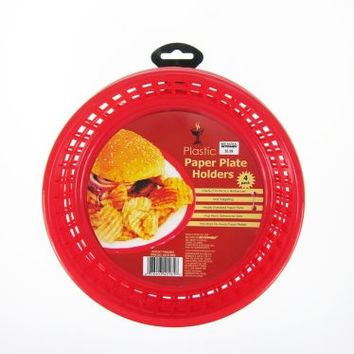 Mr. BBQ Paper Plate Holders (Set of 4)