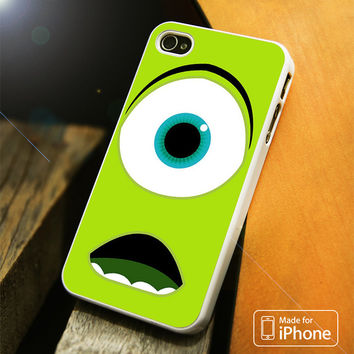 Disney Mike Wazowski Monster Inc iPhone 4(S),5(S),5C,SE,6(S),6(S) Plus Case
