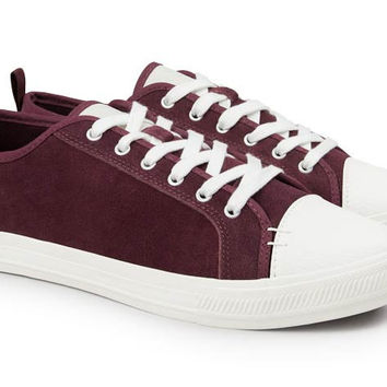 The Wilson - Suede - OX-Blood  // White Sole