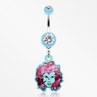 Hott Medusa Belly Button Ring