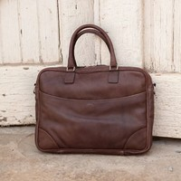 Torrence - Briefcase - Tuscany Chocolate | Moore and Giles, Inc.