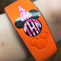 Magic Band 1.0 & 2.0 Magic Band Inspired Birthday Hat Glitter or Lilly Decal