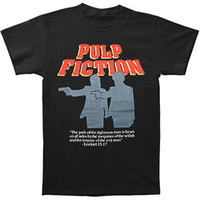 Pulp Fiction Men's  Divine T-shirt Black Rockabilia