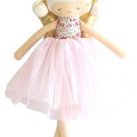 ALIMROSE WILLOW FAIRY DOLL 48CM FLOWER BOUQUET