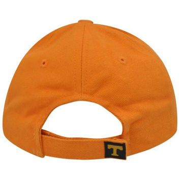 NCAA Tennessee Volunteers Vols Two Tone Velcro Adjustable Black College Hat Cap