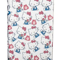 Hello Kitty iPhone 4 Hard Case White - Small Kitty Pattern