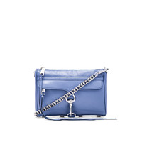 Rebecca Minkoff Mini MAC in Deep Denim