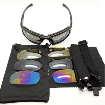 Daisy X7 Outdoor Sports Goggles Tactical Airsoft Shooting Motorbike Cycling Glasses Men Women