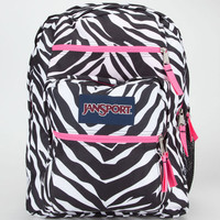 Jansport Big Student Backpack Black/White/Fluorescent P One Size For Women 20569914801