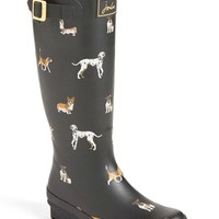 Joules 'Welly' Print Rain Boot (Women) | Nordstrom