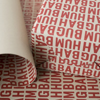 Humbug Wrapping Paper