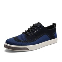 Hot Sale Summer Permeable Anti-skid Rubber Shoes Stylish Fashion Men's Shoes [6542336515]