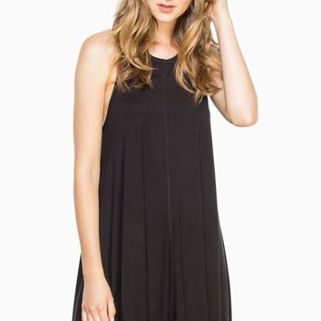 ShopSosie Style : Becca Shift Dress in Black
