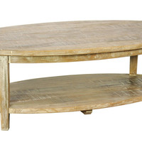 Cali Oval Coffee Table