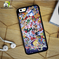 Walt Disney Christmas All Character Design iPhone 6 Plus Case by Avallen