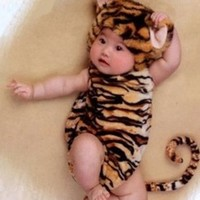 Unisex-baby Infant Tiger Costume