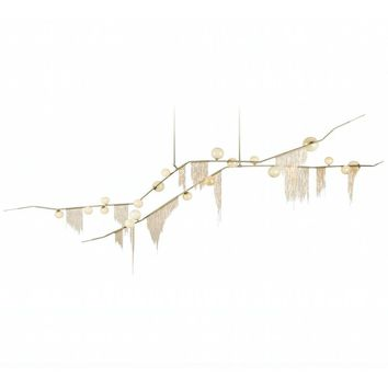 Cherry Bomb Fringe Chandelier - Reproduction