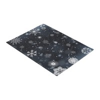 Perfect Snowflakes for the Christmas Holiday Doormat