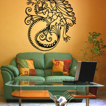 Vinyl Wall Decal Sticker Greek Mermaid #OS_AA1689