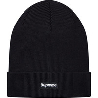 Supreme: Solid Beanie - Black