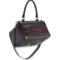 Givenchy Pandora Medium Gothic Mailbag, Black